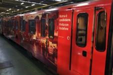 Inaugurata Termini-Vodafone La prima stazione con lo sponsor