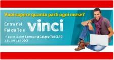 Tablet e buoni acquisto in palio nel concorso Vodafone Fai Da Te